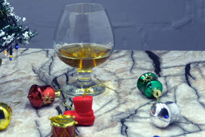 Whiskey and Christmas Ornaments